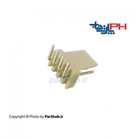 مخابراتی (2510) 4 پین 2.54mm نود درجه (RA)