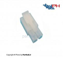 کانکتور بین راهی L6.2 ماده 2x1 (2 پین) 6.2mm