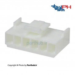 کانکتور پاور قفل دار (VH) ماده 6 پین 3.96mm