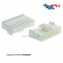 کانکتور پاور قفل دار (VH) ماده 8 پین 3.96mm