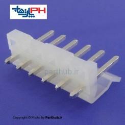 کانکتور پاور بدون قفل (CH) نر 6 پین 3.96mm صاف (ST)