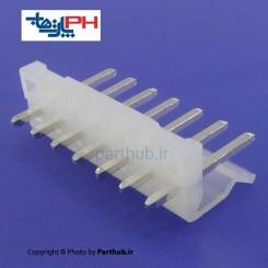 کانکتور پاور بدون قفل (CH) نر 7 پین 3.96mm صاف (ST)