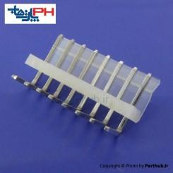 کانکتور پاور بدون قفل (CH) نر 8 پین 3.96mm نود درجه (RA)