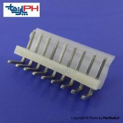 کانکتور پاور بدون قفل (CH) نر 9 پین 3.96mm نود درجه (RA)