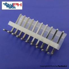 کانکتور پاور بدون قفل (CH) نر 10 پین 3.96mm نود درجه (RA)