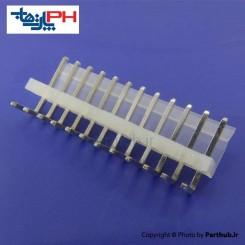 کانکتور پاور بدون قفل (CH) نر 12 پین 3.96mm نود درجه (RA)