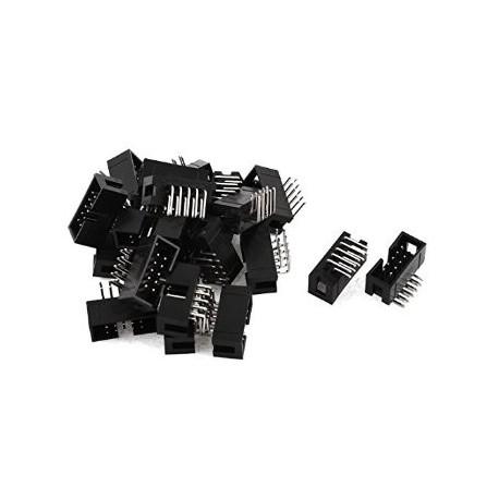 باکس هدر(IDC) 2*25 (50 پین) 2.54mm نود درجه (RA)کاتالوگ محصولات پیش نمایش نسخه برداری