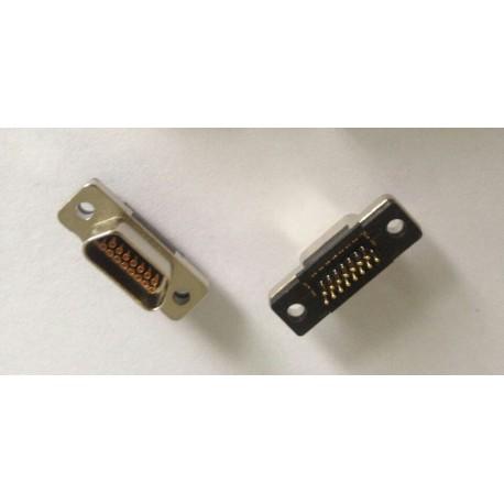 Micro D-Sub male 15 pin